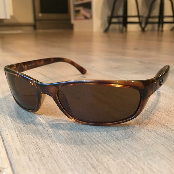 3089967d95fcb germany custom rayban rb 4115 brown non polarized lenses. image 1 ce2c0  bf2f8  sweden ray ban rb4115 tortoise sport sunglasses 548ff 5f927